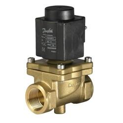 EV245B, Servo piston operated 2/2-way solenoid valves for steam
