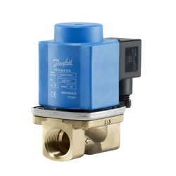 EV251B, Assisted lift operated 2/2-way solenoid valves