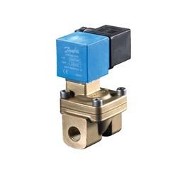 EV220W (10-22 series), NC, EPDM, Servo-operated 2/2-way solenoid valves
