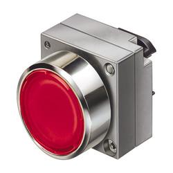 Pushbutton, indicator light, metallp