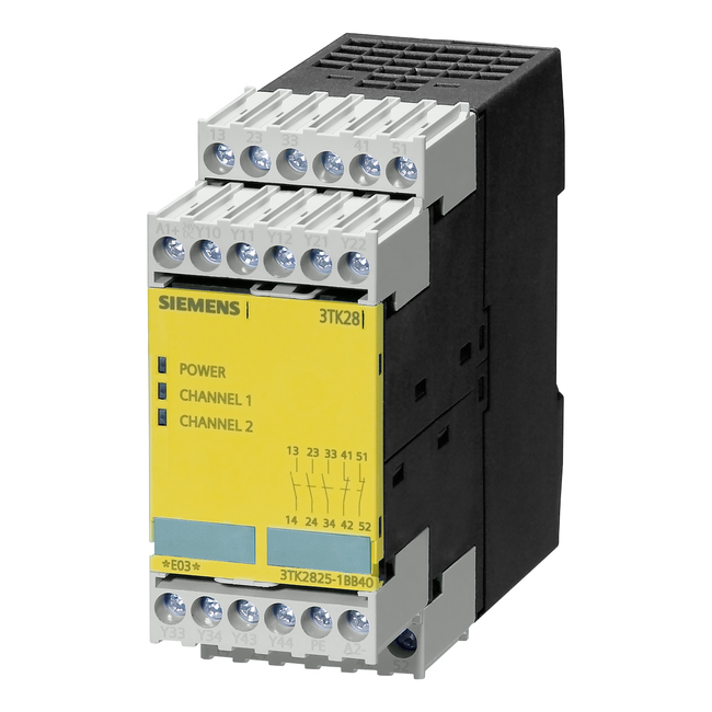 Siemens 3tk2825-1bb40 safety relays | wesco.
