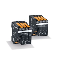 Electronic 24 V DC circuit breakers