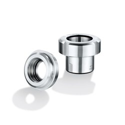 Pipe fittings for hygienic applications