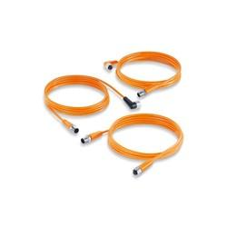 Jumper cables for hygienic and wet areas