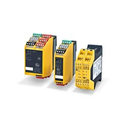 For fail-safe sensors and E-STOP switchgear