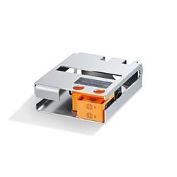 Inductive dual sensors for quarter-turn actuators