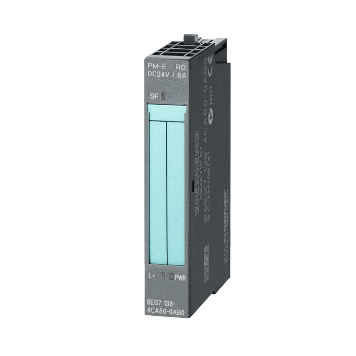 6ES7-138-4CA01-0AA0 MODULE PM-E 24V DC W//DIAGNO ET200S