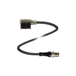 Pepperl+Fuchs Valve Connector Cordset VMA-3+P/L1-1M-PUR-V1-G