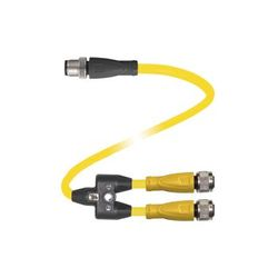 Pepperl+Fuchs Y connection cable V15-G-S-10M-T-03M-PUR-A-V1-C2