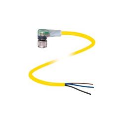 Pepperl+Fuchs Female connector V1-W-E0-YE5M-PVC-U