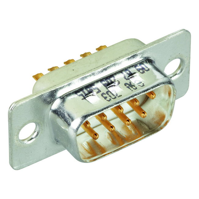 D-Sub plug connection inlay