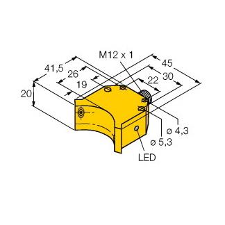 Turck NI4-DS20-2Y1X2-H1140