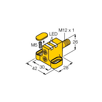 Turck NI4-DSC26-2AP6X2-H1141