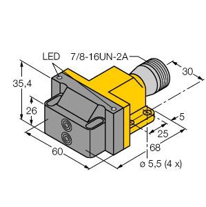 Turck NI4-DSU26-2ADZ30X2-B1151