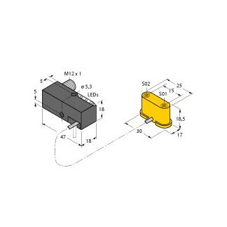 Turck NI1,5-VEP-2AP6-0,185-FS4.4X3/S304