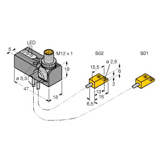 Turck NI2-ISI-0,055-BDS-2AP6X3-H1141/S34