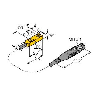 Turck BI2-Q5,5-AP6X-0,3-PSG3M
