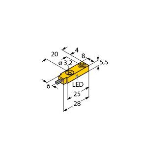 Turck BI2-Q5,5-AN6X