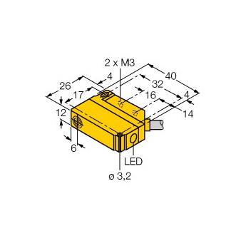 Turck BI5U-Q12-VP6X2 7M