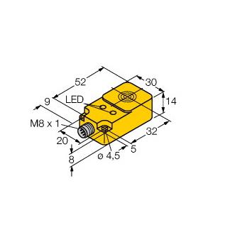 Turck BI10-Q14-AP68X2LD-V1131