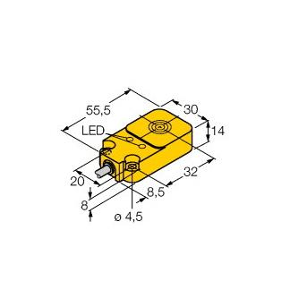 Turck BI10-Q14-AP45X2LD