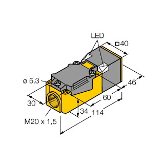 Turck BI15U-CP40-VP4X2