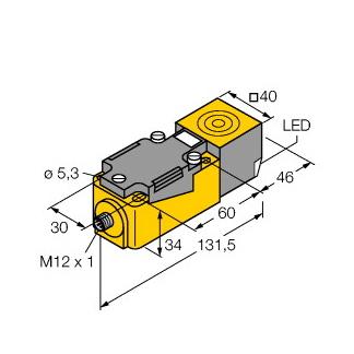 Turck NI40U-CP40-VP4X2-H1141