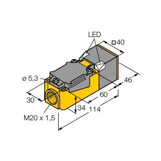 Turck NI40U-CP40-VN4X2