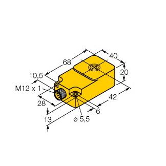 Turck BI8-Q20-2LU-H1141/S950