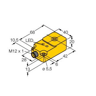 Turck NI25-Q20-AN6X2-H1141