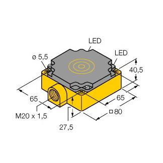 ni50 cp80 vp4x2 turck • sensors by int technics turck > inductive sensors > rectangular > 80 rectangular cp80 >