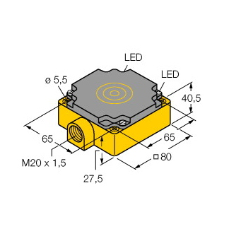 Turck BI40-CP80-VN4X2
