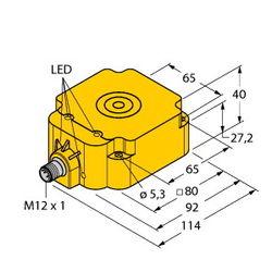 Turck NI75U-Q80-VN4X2-H1141