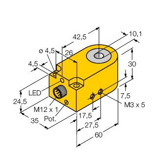 Turck BI10R-W30-DAN6X-H1141