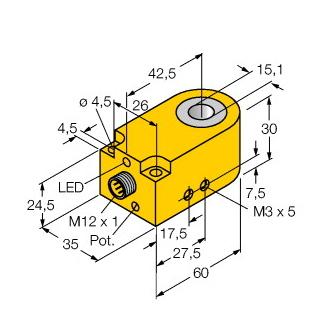 Turck BI15R-W30-DAN6X-H1141