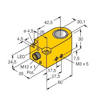 Turck BI30R-W30-DAP6X-H1141