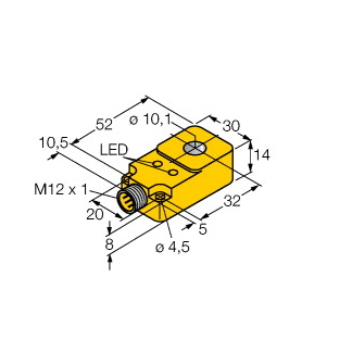 Turck BI10R-Q14-AP6X2-H1141