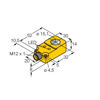 Turck BI15R-Q14-AP6X2-H1141