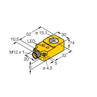 Turck BI15R-Q14-AN6X2-H1141