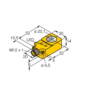 Turck BI20R-Q14-AP6X2-H1141