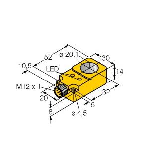 Turck BI20R-Q14-AN6X2-H1141