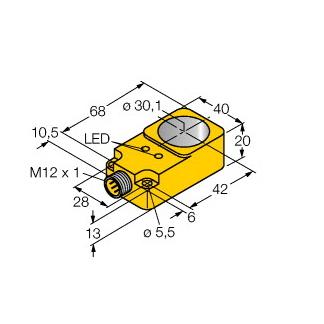 Turck BI30R-Q20-AN6X2-H1141