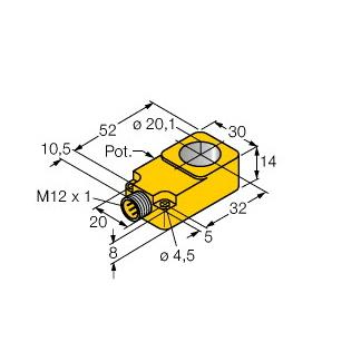 Turck BI20R-Q14-LU-H1141