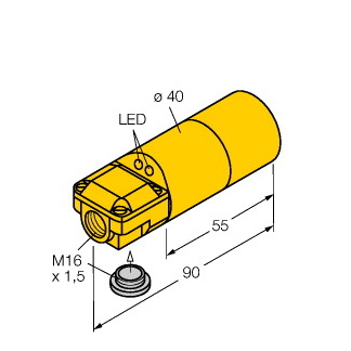 Turck NI30-K40SR-VP4X2