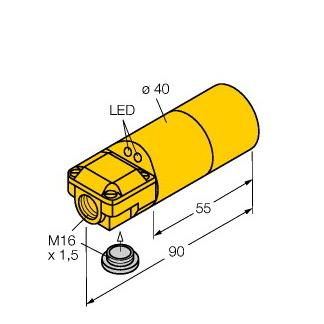 Turck NI30-K40SR-VN4X2