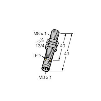 Turck BI1,5U-EG08-AN6X-V1131