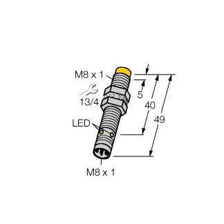 Turck NI4U-EG08-AP6X-V1131