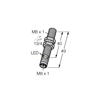Turck BI1,5-EG08-AN6X-V1131