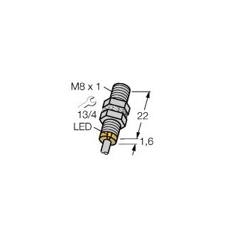 Turck BI1,5-EG08K-AN6X