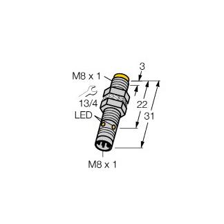 Turck NI3-EG08K-AP6X-V1131